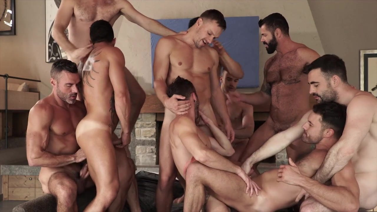 Gay Orgie