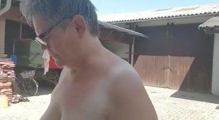 fat granny pool tits