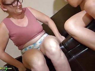 Download video bokep OldNanny granny mature masturbate with orange dildo Mp4 terbaru