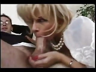 Mom sucks her step-sons dick then gets fucked by him