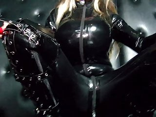 Download video bokep Danni Levy in sexy latex catsuit Mp4 terbaru