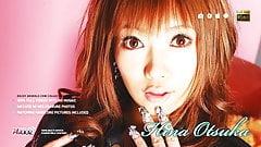 Adorable Asian babe Hina Otsuka smashed up her wet slit