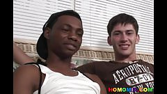 Anthony Hendrix Gets A Black Cock Shoved In His Butt