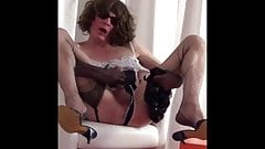 Dressed in MAID I wait for Madam who is GETTING FUCKED