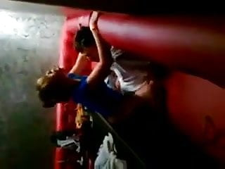 Russian slut caught fucking in night club