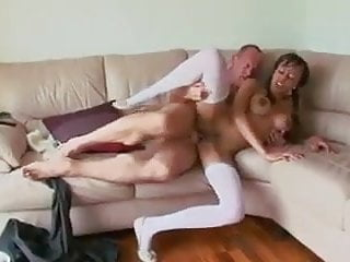 Looks Like She Is Really Enjoyng This...!!