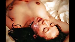 Japanese cumslut hotwife cum facial in hotel from white cock