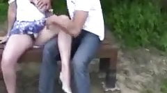 outdoor date with a horny housewife