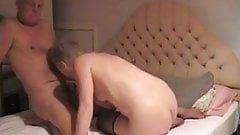 British Granny Gives a BJ