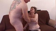 Freddie visiting Grandma Rosie