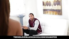 TeensLoveBlackCocks - Troublemaker Teen Takes BBC
