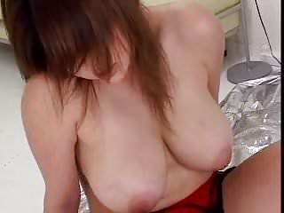 Chubby Asian With Big Tits Creampie