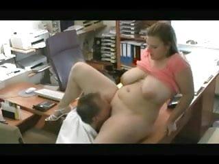 Fucking my horny Fat Chubby Secretary at the office-TheBBWGF