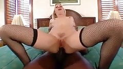 Leah Luv's ass destroyed by bbc porn image
