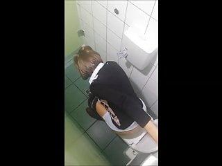 Hidden Cam Toilet 3 Girls - 11