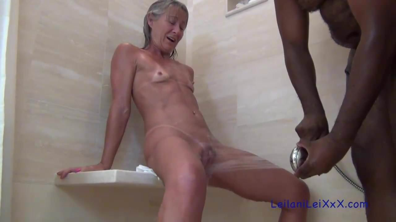 Milf lucille takes a black cock