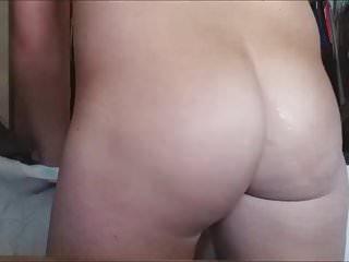 Me Cumming on My GF's Sexy big phat Ass