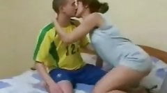 Brunette mature russian mom fucked hard