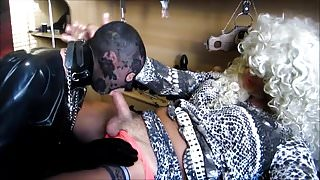 Rubbermaid training at TV Mistress Bernadette.mp4