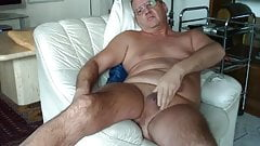 German Dad-Cumblast With Moaning