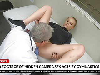 Fck News Blonde Teen Gymnast Fucked By Her Doctor