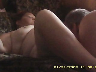 Hidden cam Me eating out my bbw wife. Epic orgasms
