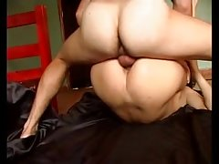 Tranny getting nailed in the ass