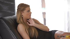 BLACK4K. After meeting in the bar, lovers have interracial