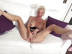 Posh lusty matures with big tits and hot bodies