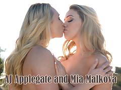 AJ Applegate and Mia Malkova - Girlsway