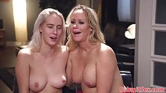 BDSM step daughter in pussy fucking trio's Thumb
