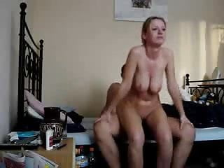 Couple having sex on the bed