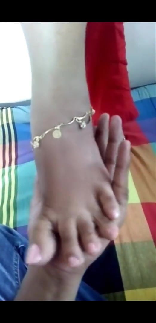 Sri Lankan Girl's Feet