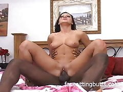 Hardcore brunette is hunting for cock