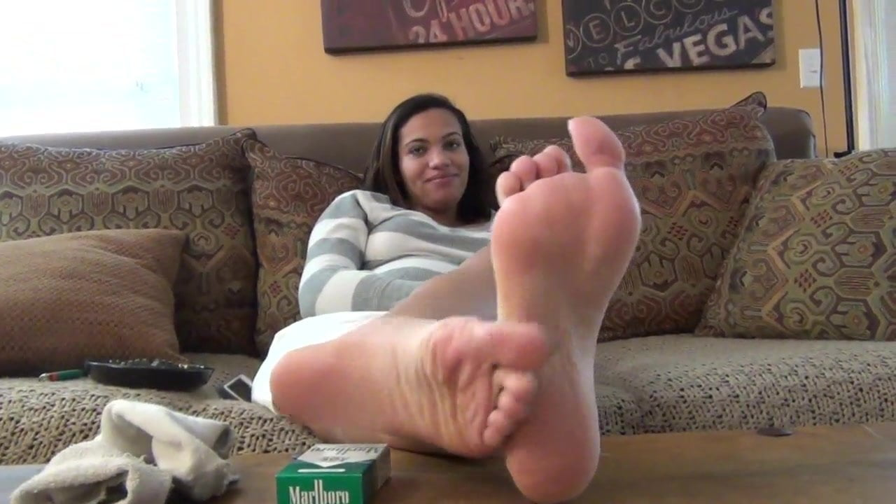 Foot tease story