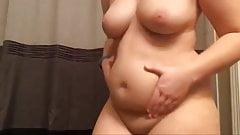 Caro wearing a tummy