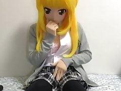 kigurumi school girl vibrating 's Thumb