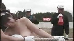 Mature Japanese Women Nude Tug of War