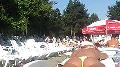 spy bikini sexy ass teens girl in pool romanian