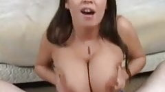 Brandy sucking and titfucked