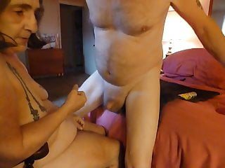 fucking my mans ass with wevibe and prostate fucking him