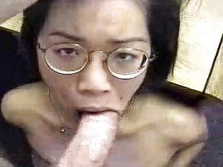 Nerdy Submissive Asian Slut Sex Casting For The First Time