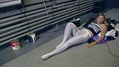 Amy in multiple pantyhose