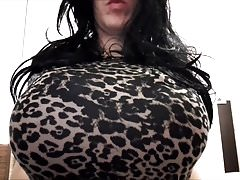 Yolana Demontfort CD TV Tight Dress Bounce Strip