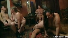 He bangs her fat pussy in various positions