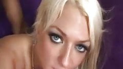 Blond Woman and Huge Dick