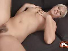 Daria Glowers Hairy Pussy Plowed