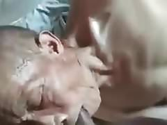 asia grandfather sucks dick