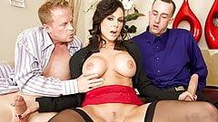 Jules Jordan - Kendra Lust Big Tit MILF Double Dicked porn image