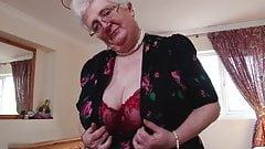 Grandma Caroline Ve and her buzzing friend